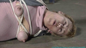 I Need to be Punished for the Naughty Things I've Done! - Part 2 [2020, nipple clamps, hogtied, business attire][Eng]