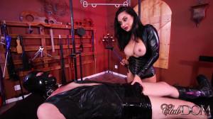 Mistress Crystal milks the new slave [2019,Female Domination,Handjob,Milking,Female Domination][Eng]
