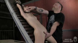 Bondage, domination, strappado and torture for young bitch part 2 [2019][Eng]