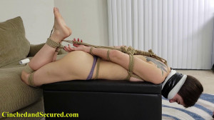 Jeanette - Topless, Tied and Massively Gagged [2021,Bondage,BDSM,Rope][Eng]