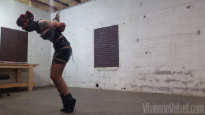 PVC and Standing [2021,Rope,BDSM,Bondage][Eng]