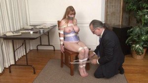 Chair Bondage [2017,Roped,Bondage][Eng]