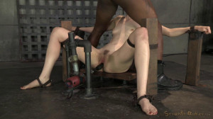 Ela Darling  Bound And Throatboarded By Hard Cocks! [2014,Bondage,Submission,Domination][Eng]