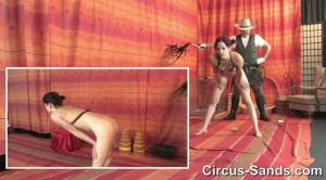 Stomach muscles training petgirl Marlin [SM-Circus,Marlin][Eng]