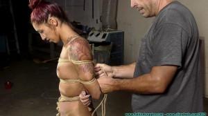 HD Bdsm Sex Videos Stefania's Tight Box Hogtie Part 1 [2020,FutileStruggles,Bondage ,Gagged Women,Rope Bondage ][Eng]