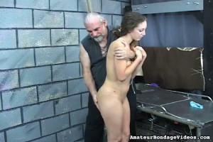 Nicole Amateur Bondage [Eng]