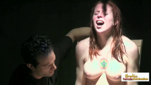 Redhead Is Given A Unique Interrogation By A Sadist With A Vibrator [Eng]