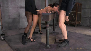 Lush Latina Selma Sins stuck in stocks [2016,SexuallyBroken,Selma Sins,Domination,BDSM,All sex][Eng]