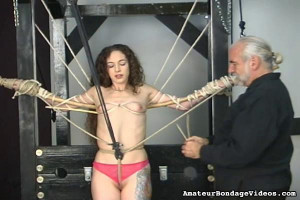 Nicole Flogged And Skewered [Eng]