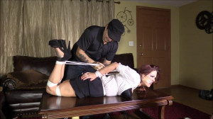 Agent Brooke Comes Looking For Agent Sahrye And Gets More then She Bargained For [2018,Hogtie,Damsel In Distress,Struggle][Eng]