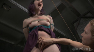 Freya French and Rain DeGrey [2015,Spanking,Submission,BDSM][Eng]