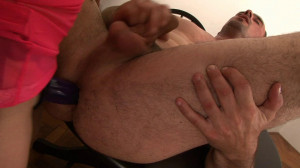 Kinky brunette fuck her boyfriend with strap on [Combat Zone,Christina Richie,Fetish,Strap On,FemDom][Eng]