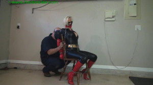 HunterSlair - Rachel - Superheroine's chair bound anguish [HunterSlair,BDSM][Eng]