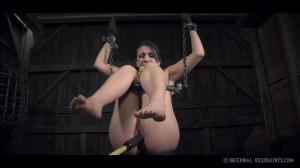 OT Takes Advantage Of Mandy's Desperation [2014,Torture,Domination,Rope Bondage][Eng]