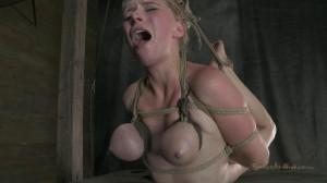 Girl next door in a Cat 5 Hogtied breast suspension [2018,SB,Cool Girl,BDSM][Eng]