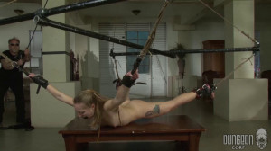 Dungeon Corp - Sadie Blair - Learning Her Lessons part 4 [2017,Dungeon Corp,Sadie Blair,punishment,bdsm rough sex,pain][Eng]