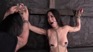 Dungeon Corp - Mi Ha Doan - She Wanted a Conflict part 3 [2017,Dungeon Corp,Mi Ha Doan,Bondage,Humilation][Eng]