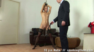 Sexy teacher gets spanked [Eng]