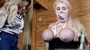 Busty Blonde [2016,Humilation,Bondage][Eng]