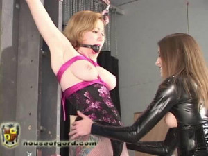 Charlotte gets to play with Seven [2009,gags,corsets,high heels][Eng]