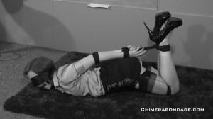 Anita De Bauch - Ballgag,Blindfold [2021,BDSM,Rope,Bondage][Eng]