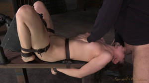 Fresh Faced Kasey Warner Belted To Sybian And Brutally Throat Trained [Sexuallybroken][Eng]