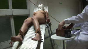 Hard bondage, domination and torture for sexy model part 1 [2021][Eng]
