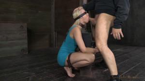 SexuallyBroken - Stunning Anikka Albright does brutal deepthroat... [Eng]