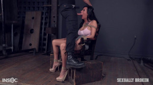 Busty Lily Lane Gets Dominate Bondage Fuck [2018,Lily Lane,Brown Eyes,Belt Bondage,Breast Groping][Eng]