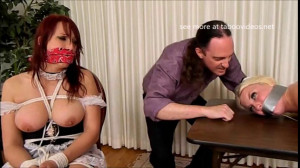 Choked and Roped - Nicki Hunter and Britney Amber [Eng]