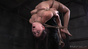 Yoga Slut - Nikki Knightly, Jack Hammer [2015,Breast Flogging,Foot Bondage,Whip][Eng]