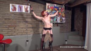 Anita De Bauch - Spanish Donkey Nipple play [2021,BDSM,Rope,Bondage][Eng]