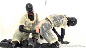 Rubber Layers, Gas Mask Dressing, Inflatable Dildo Part One [Eng]