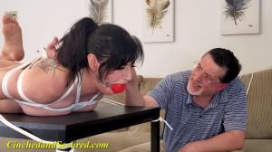 Nyxon Sets The Table [2021,Rope,Bondage,BDSM][Eng]