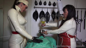 Ms Miranda and Lady Annisa - 130 Target part 4 [Foot Fetish,Foot Domination,Femdom ][Eng]
