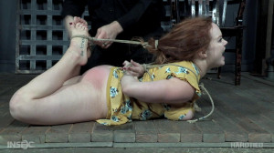Summer Hart has her tits tied tight! [2018,HardTied,Summer Hart,Humiliation,BDSM,Torture][Eng]