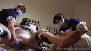 Mistress Miranda - Lady Annisa in Medical Protocol [Foot Fetish,Femdom ,Foot Domination][Eng]