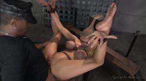Huge beasted Rain DeGrey restrained in strict bondage [2021,Rain DeGrey,Domination,BDSM,Bondage][Eng]