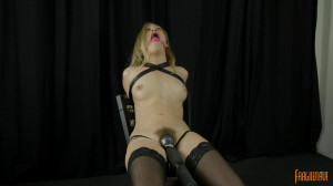 Lyra Struggles to Cum [Ballgagged,Bondage Orgasms,string Bondage][Eng]