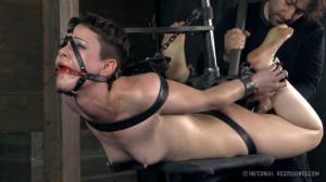 Stuck in Bondage [2021,Hazel Hypnotic,Hardcore,Toys,Torture][Eng]