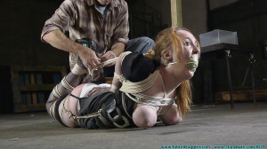 Ginger's Test [2020,Breast bondage, Busty][Eng]
