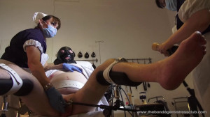 Mistress Miranda - Lady Annisa Medical Protocol Fin [Foot Fetish,Femdom ,Foot Domination][Eng]