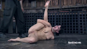 Hard bondage, strappado and torture for hot whore part1 [2019][Eng]