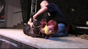 Her First ever Hogtie ! - Eli - Scene 2 [Eng]