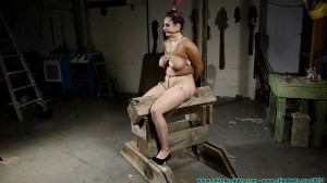 Gia Love Rides the  While Bound in Nylons Part 2 [Eng]