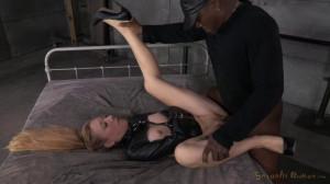Emma Haize is straightjacketed and ragdoll fucked hard by 2 big cocks [2014,SexuallyBroken,Emma Haize,Bondage,Hardcore,Domination][Eng]