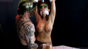 Green Guardian Falls to the Goddess of Lust [2020,Bdsm,Humilation,Femdom][Eng]