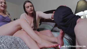 Despised Loser must Worship their Feet [Ivory,Feet Licking,Foot Fetish,Female Domination][Eng]
