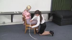 Holly Wood and Elizabeth Andrews - Retraining Holly [2021,BDSM,Bondage,Rope][Eng]