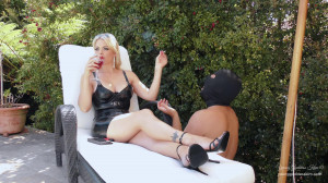 HD Femdom Sex Videos Day In The Life As A Garden Ashtray [2021,YoungGoddessKim,Femdom,Anal,Anal Play][Eng]